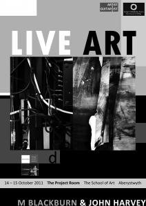 Live Art Poster